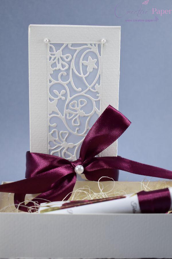 Invitatii Nunta Pergament Elegante