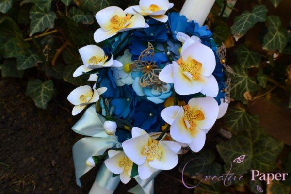 Lumanari Botez Blue Dreams