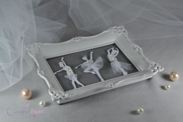 "Rama Handmade ""Dancing Ballerinas"""