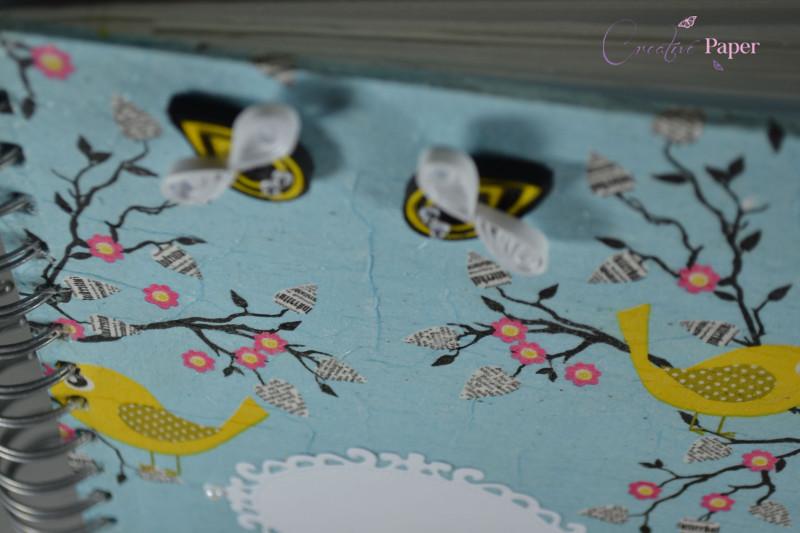 Caiet Impresii Yellow Birds