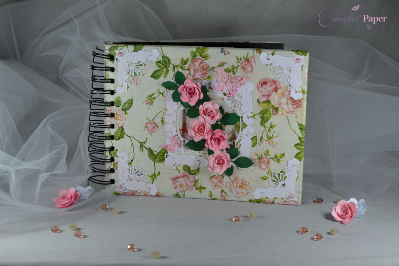 Caiet Impresii Pretty Roses