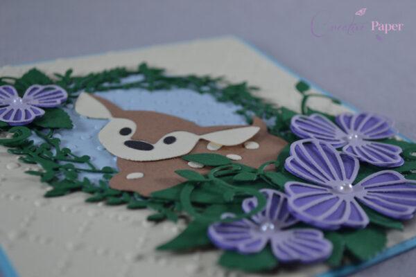 Invitatie Botez Cute Deer