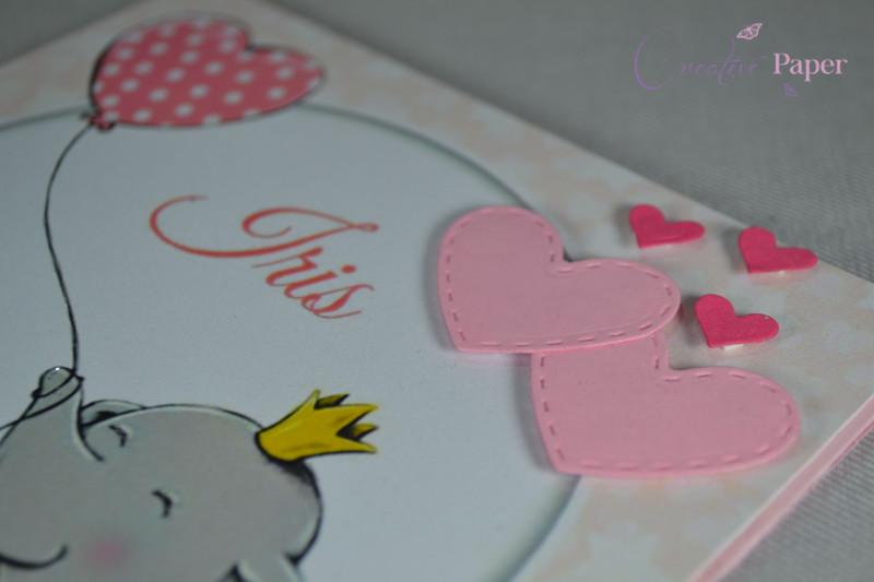 Invitatie Botez Sweet Pink