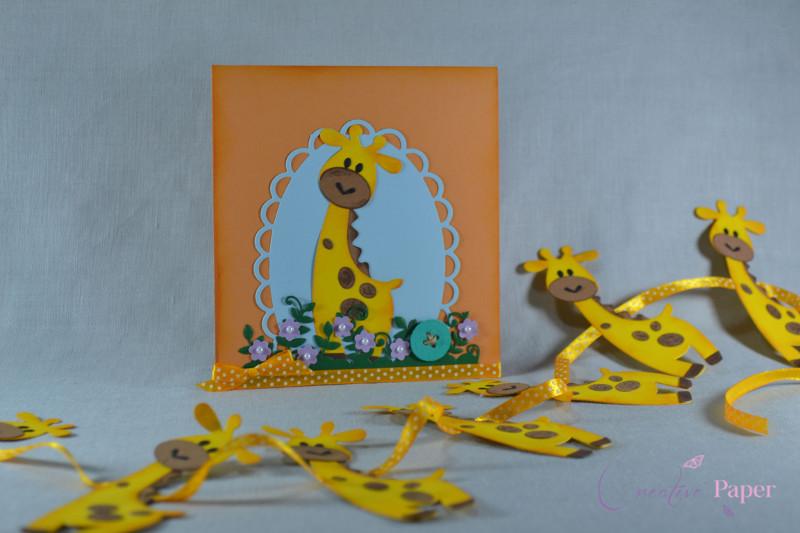 Ghirlanda Botez Giraffe