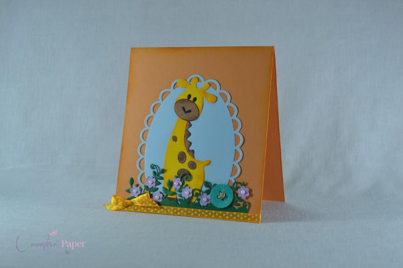 Invitatie Botez Giraffe