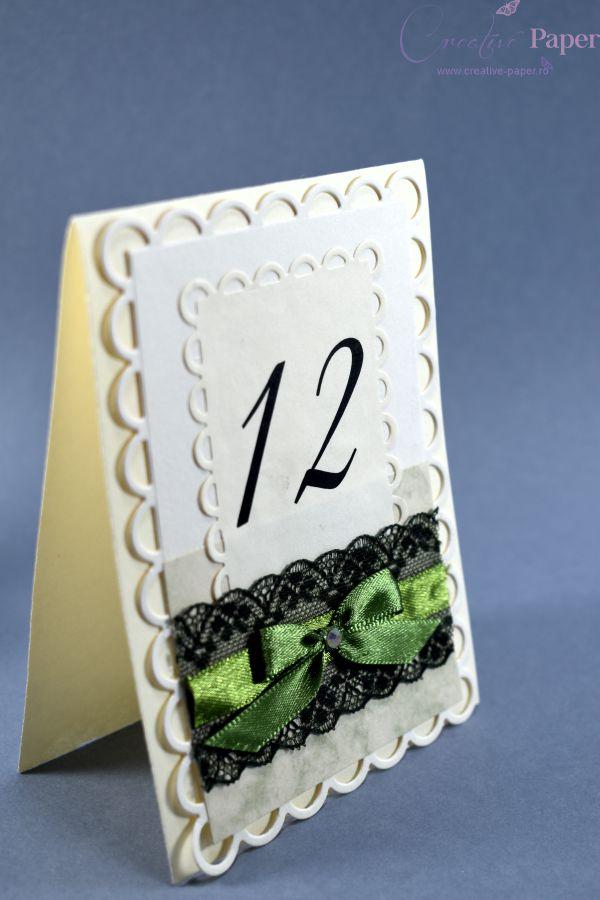Numere de Masa Nunta Travel Handmade