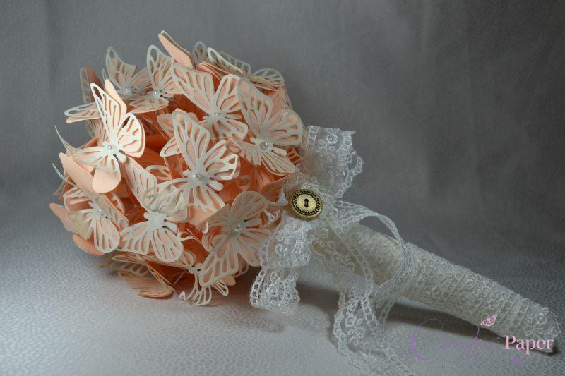 Buchet Mireasa Butterfly