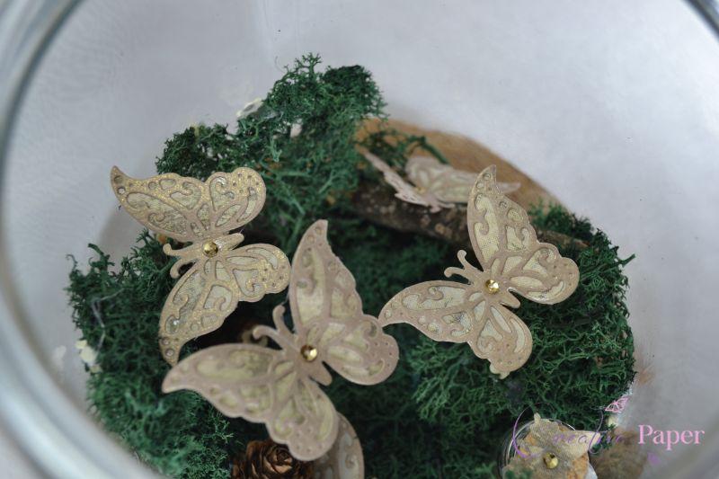 Decoratiune Handmade Secret Garden