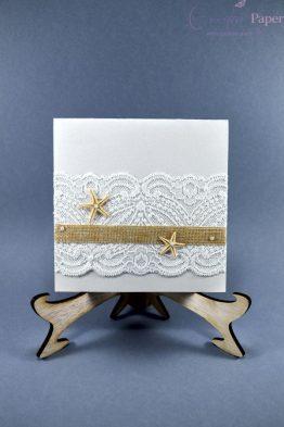 invitatii nunta marine handmade