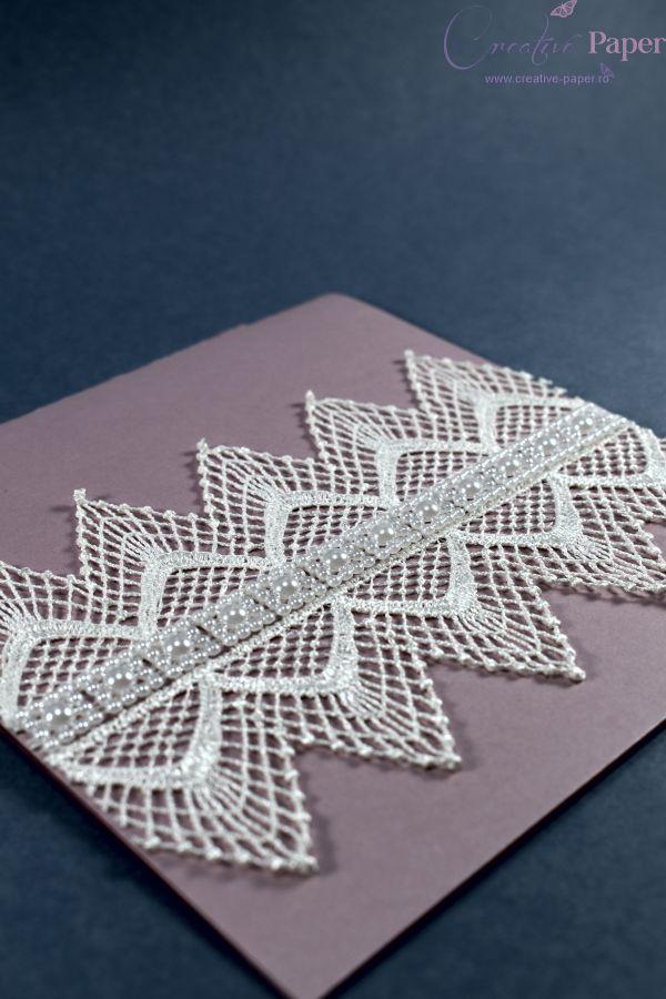 Invitatii Nunta Vintage Handmade