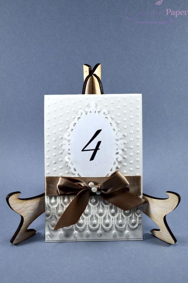 Numere de Masa Nunta Elegante Handmade