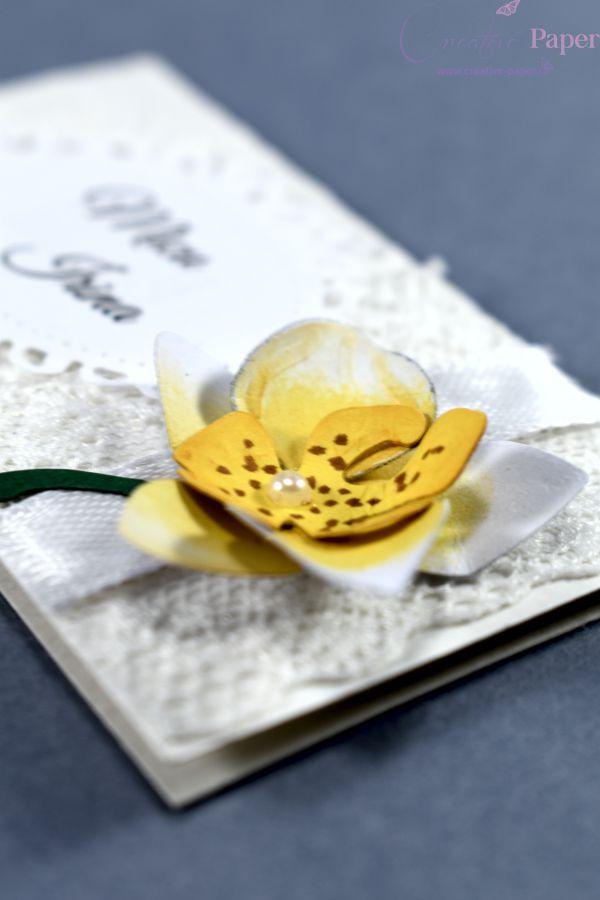 Place Carduri Flori Hartie Orchidee