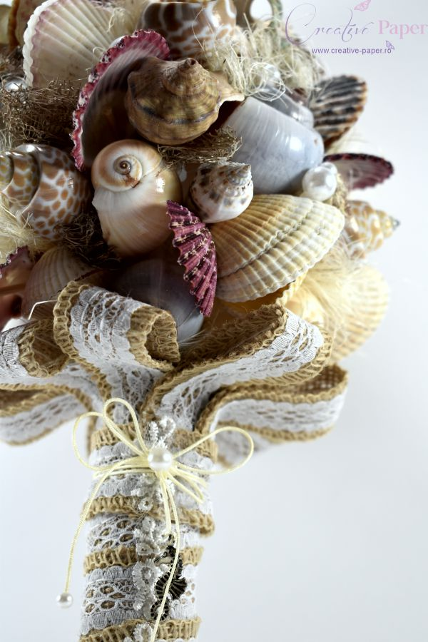 Buchete Mireasa Marina Handmade