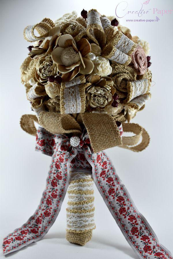 Buchete Mireasa Traditionale Handmade