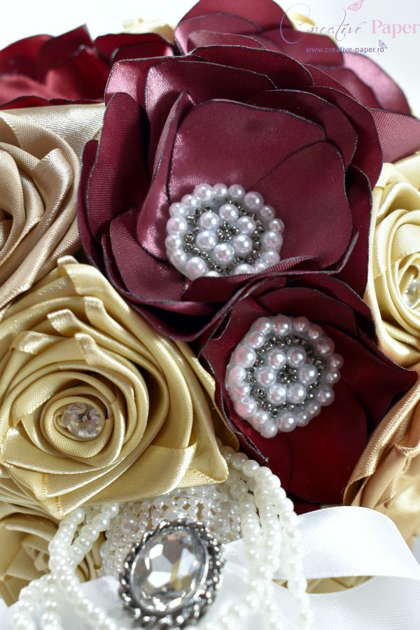 Buchete Mireasa Elegante Handmade