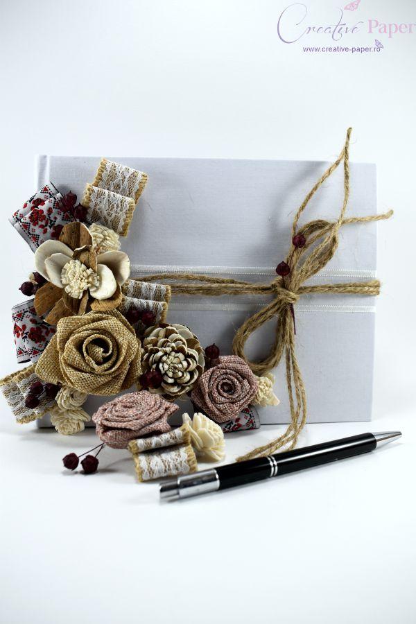 caiet amintiri nunta traditionala