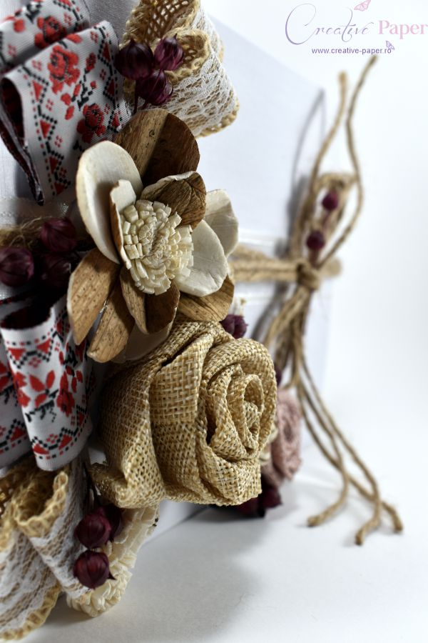Caiet Amintiri Nunta Traditionala Handmade
