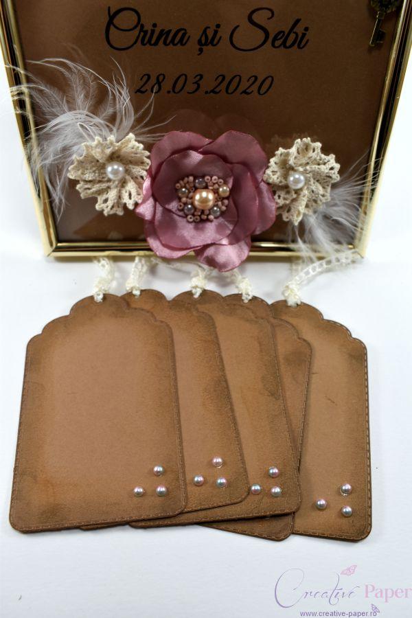 Caiet Amintiri Nunta Vintage Handmade
