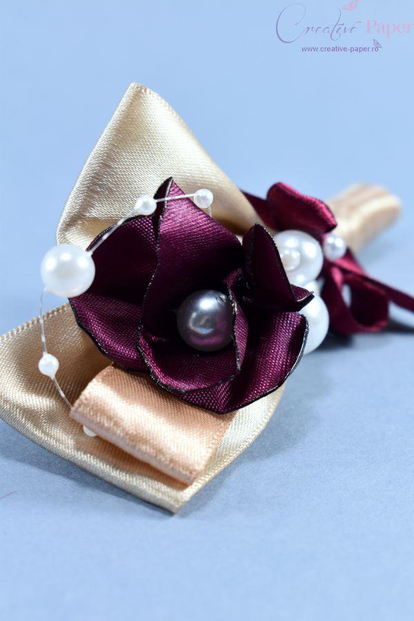 Cocarde Nunta Elegante Handmade