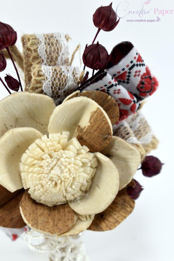 Cocarde Nunta Traditionale Handmade