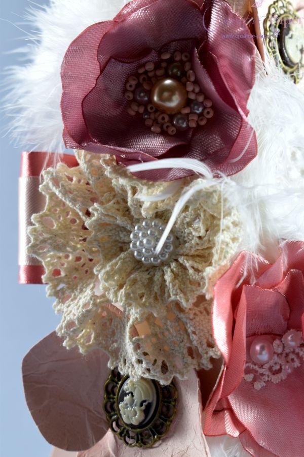 Lumanari Nunta Vintage Handmade