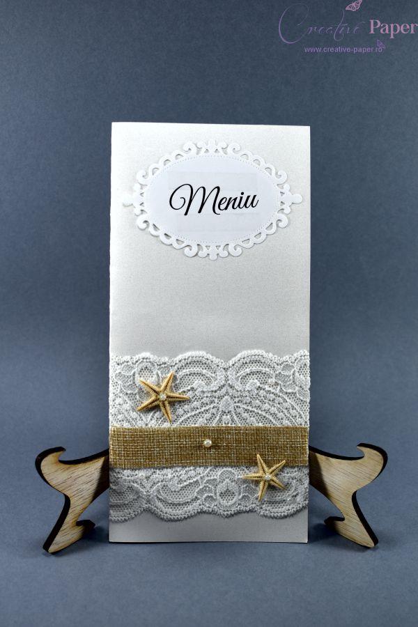 Meniuri Nunta Marina Handmade