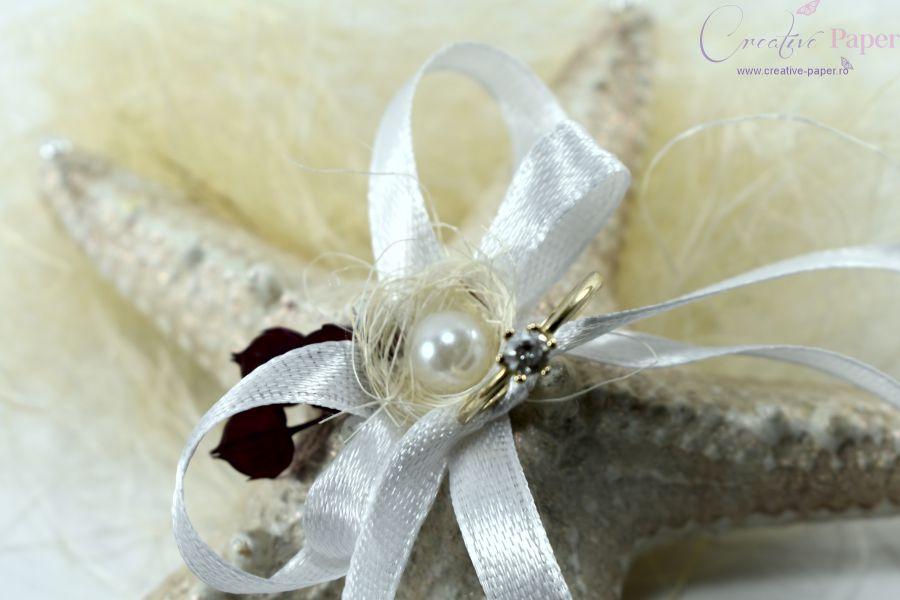 Suport Verighete Nunta Marina Handmade