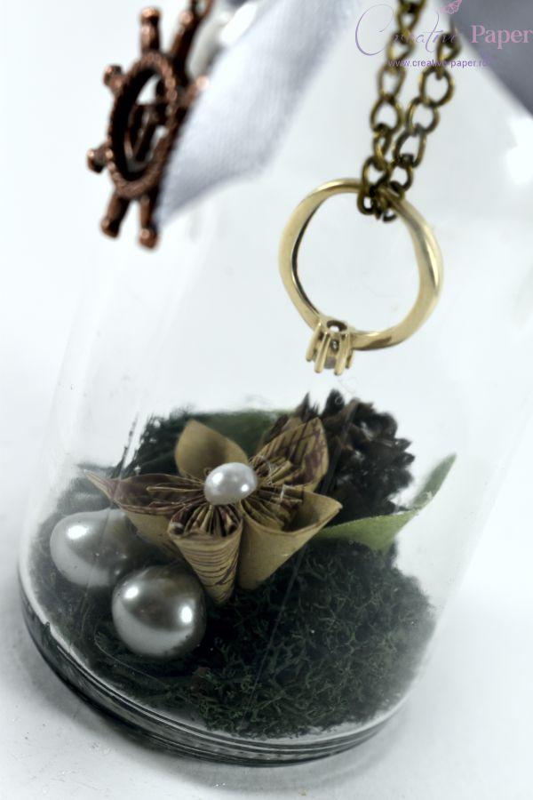 Suport Verighete Nunta Travel Handmade