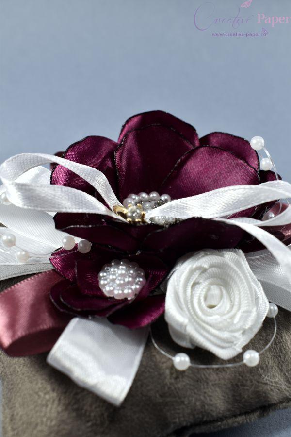 Suport Verighete Nunta Eleganta Handmade