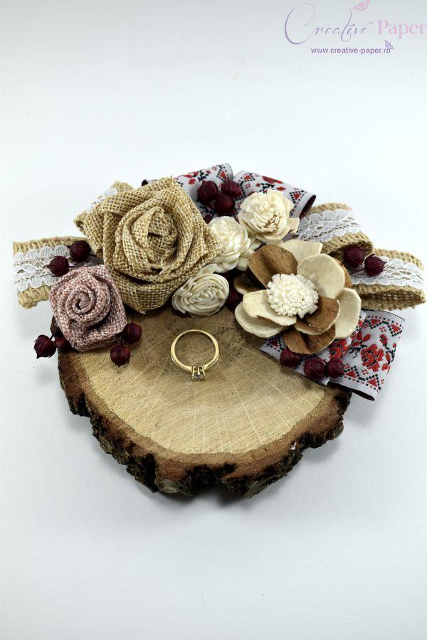 Suport Verighete Nunta Traditionala Handmade