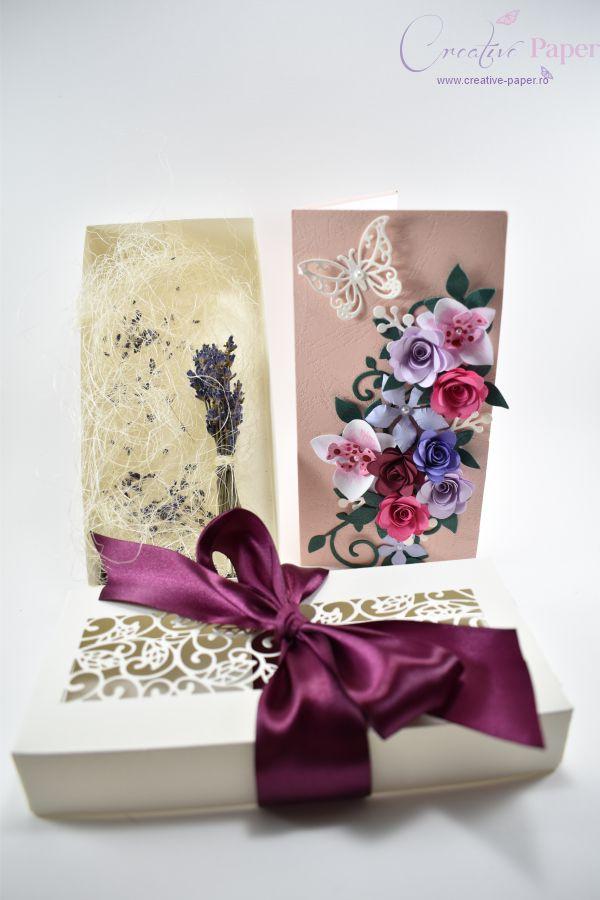 Felicitari 8 martie Handmade Flori Hartie