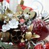 Aranjamente de Craciun Handmade Cana Rosie Alba