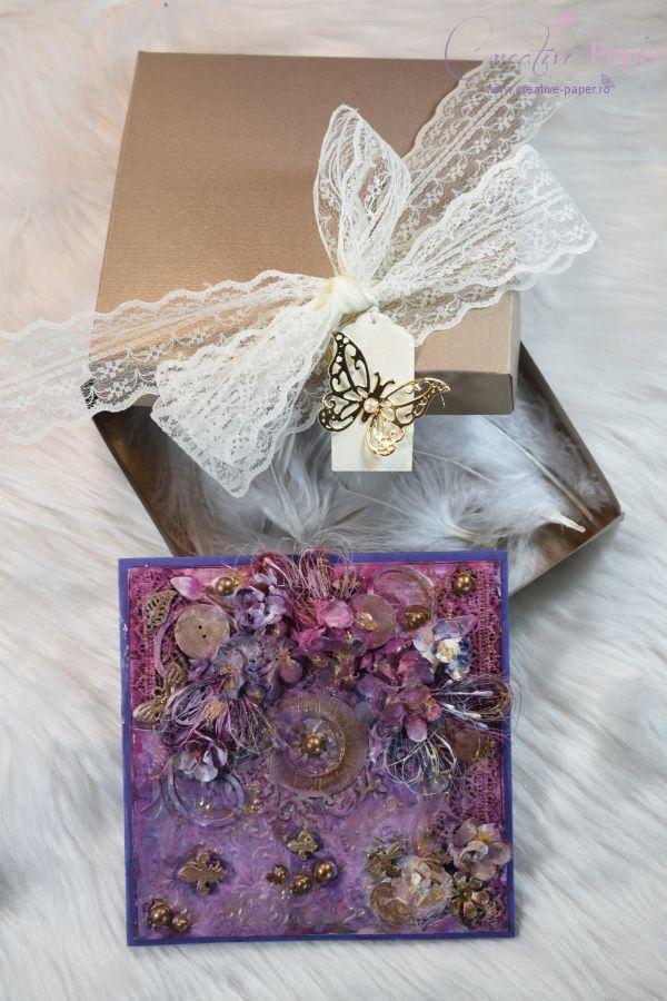 Felicitari Handmade Mystical Clock