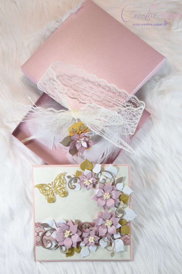 Felicitari Handmade Rose Gold