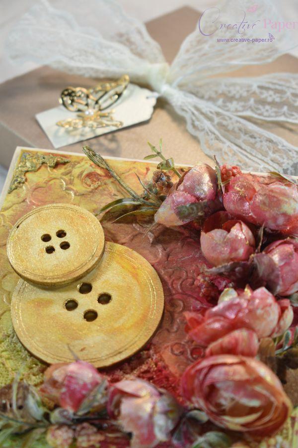 Felicitari Handmade Buttons