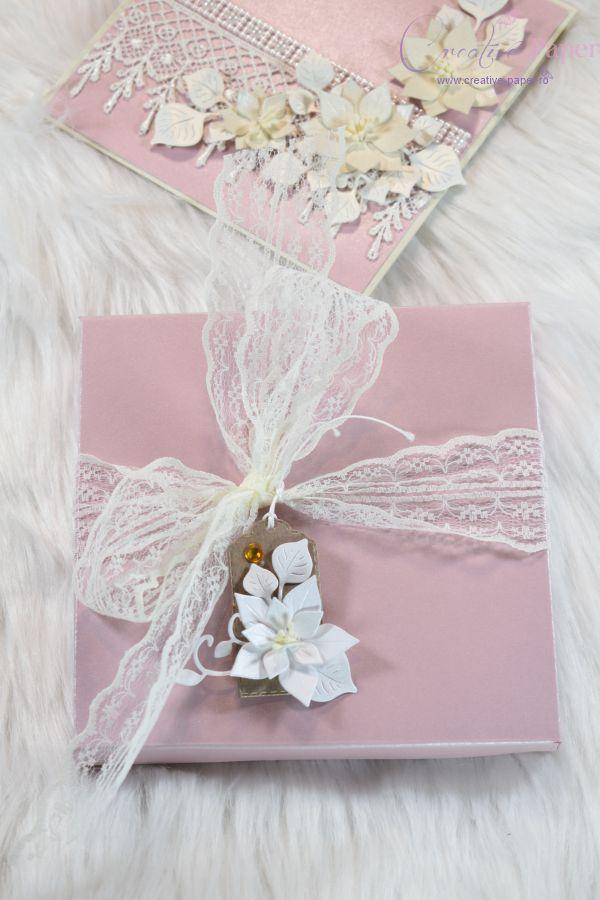 Felicitari Handmade Romantic Pearl