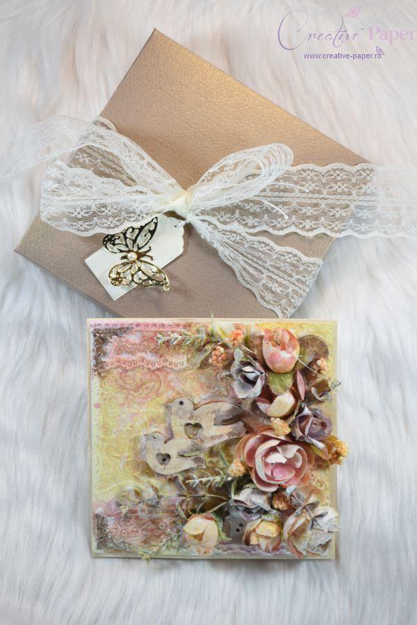 Felicitari Handmade Dreamy Birds