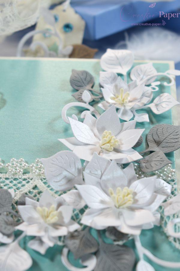 Felicitari Handmade Green Mint
