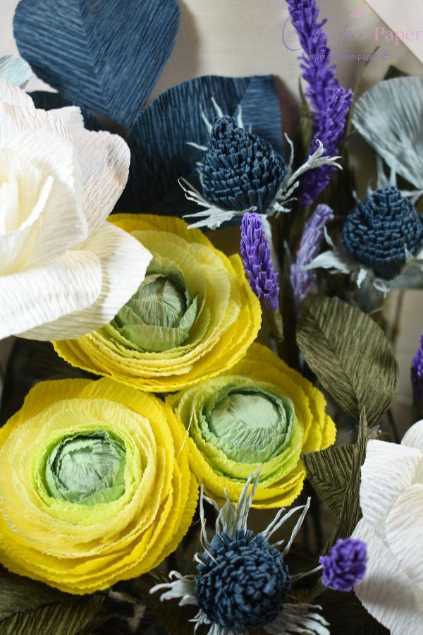 Aranjamente Florale Deosebite in Plic de Lemn