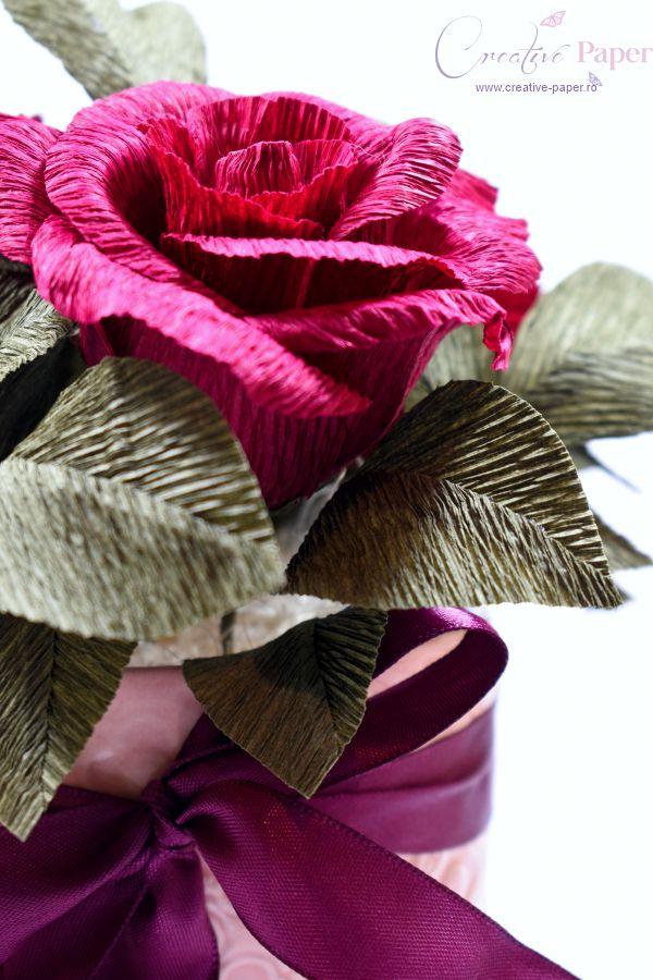 Aranjamente 8 Martie Flori Hartie Trandafiri