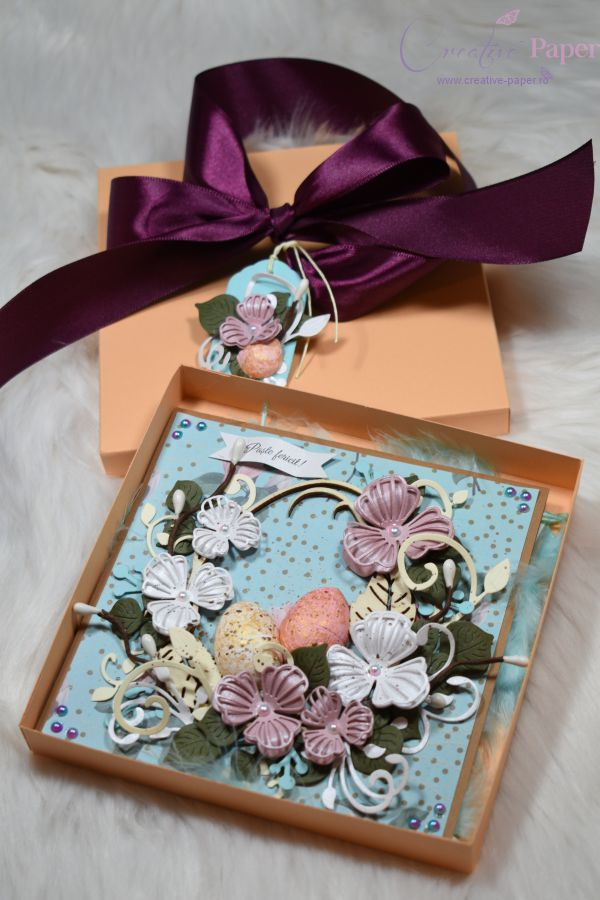 Felicitari de Paste Handmade Colaj