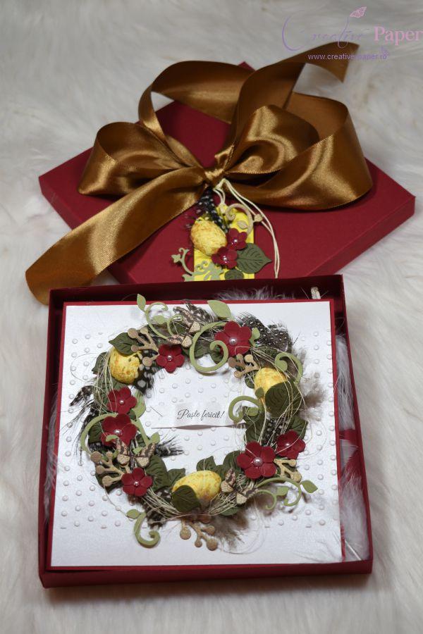 Felicitari de Paste Handmade Coronita
